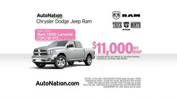 AutoNation Ram Truck Month TV Spot, 'Drive Pink: Pink Plates' - Thumbnail 5