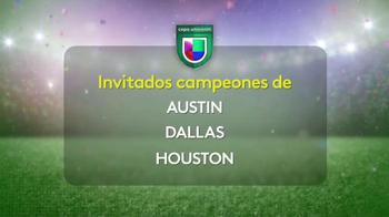 Univision TV Spot, 'Copa Univision: San Antonio' [Spanish] - Thumbnail 5