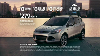 Ford SUV Season Sign & Go Event TV Spot, 'Be Unstoppable' - Thumbnail 6