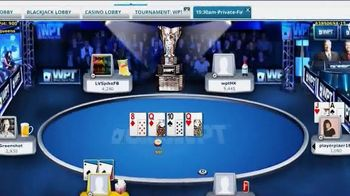 ClubWPT TV Spot, 'Get in the Game' Featuring Lynn Gilmartin - 8 commercial airings