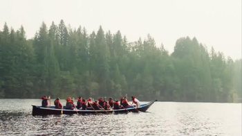 Alaska Airlines TV Spot, 'Canoe' Featuring Russell Wilson - 23 commercial airings