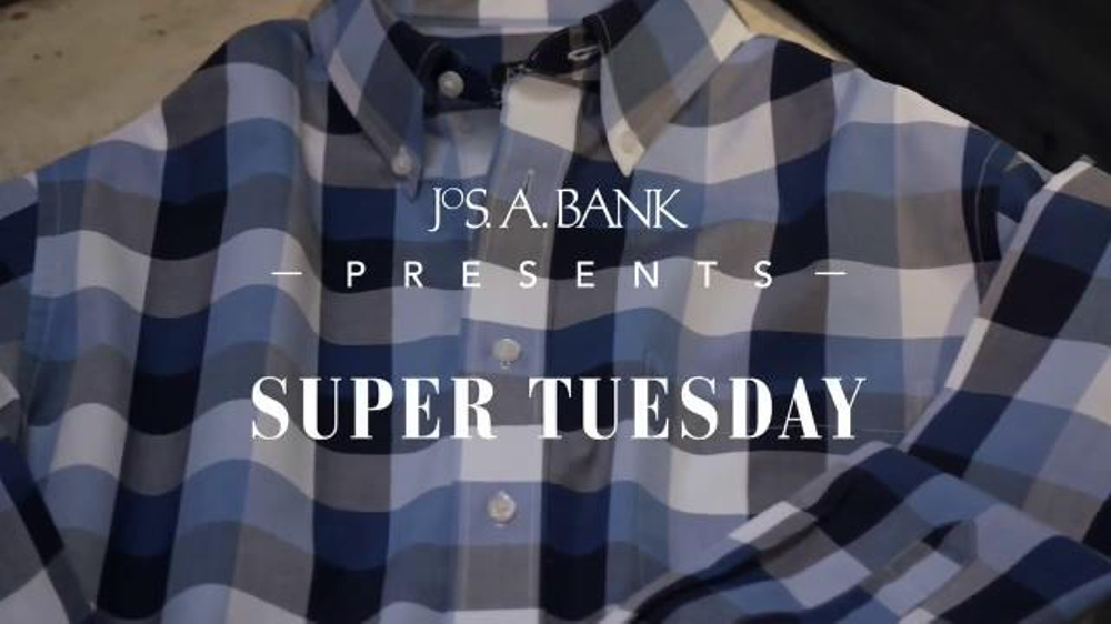 JoS. A. Bank Super Tuesday TV Commercial, 'Travelers'