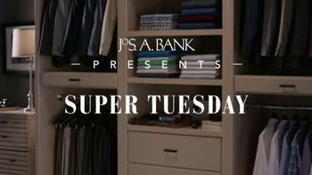 JoS. A. Bank Super Tuesday TV Spot, 'Buy One, Get Two Free' - 75 commercial airings