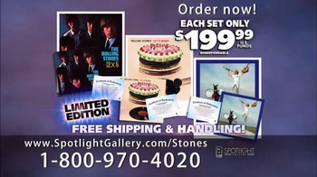 The Rolling Stones The Vinyl & Lithograph Collection TV Spot, 'Experience' - Thumbnail 6