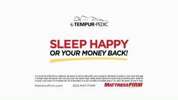 Mattress Firm Tempur-Pedic TV Spot, 'Sleep Happy' - Thumbnail 7