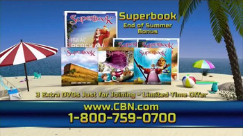CBN Superbook End of Summer Bonus TV Spot, 'Water-Based Bible Stories' - Thumbnail 6