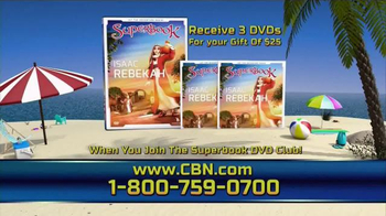 CBN Superbook End of Summer Bonus TV Spot, 'Water-Based Bible Stories' - Thumbnail 5