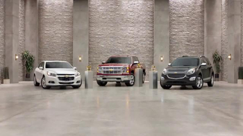 Chevrolet TV Spot, 'Awards: Malibu, Silverado 1500 and Equinox'