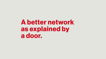 Verizon TV Spot, 'A Better Network as Explained by a Door' - Thumbnail 1