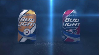 Bud Light TV Spot, 'My Team Can: Stealers vs. Patriots' - 7 commercial airings