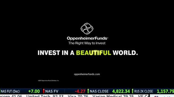 Oppenheimer Funds TV Spot, 'Invest in a Beautiful World' - Thumbnail 9