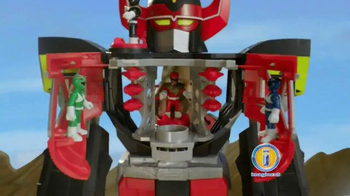 Imaginext Power Rangers Morphin Megazord TV Spot, 'Megapower' - 500 commercial airings