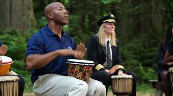 Alaska Airlines TV Spot, 'Drum Circle' Featuring Russell Wilson - Thumbnail 3