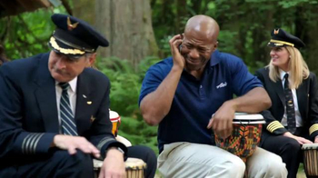 Alaska Airlines TV Spot, 'Drum Circle' Featuring Russell Wilson - Thumbnail 6