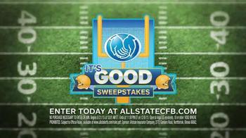 Allstate TV Spot, 'It's Good Sweeps' - Thumbnail 1
