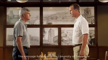 University of Tennessee TV Spot, 'Big Orange Big Ideas' Ft. Peyton Manning - Thumbnail 1