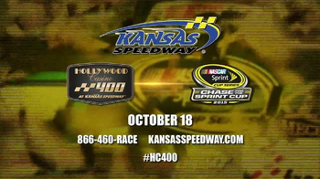 Kansas Speedway TV Spot, 'NASCAR Sprint Cup Series: Hollywood Casino 400' - Thumbnail 10