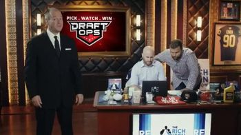 Draft Ops TV Spot, 'Level the Playing Field' Featuring Rich Eisen - 593 commercial airings