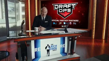 Draft Ops TV Spot, 'Level the Playing Field' Featuring Rich Eisen - Thumbnail 4