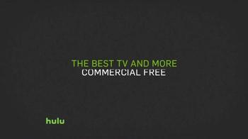 Hulu No Commercial Plan TV Spot, 'Jingle' - Thumbnail 2