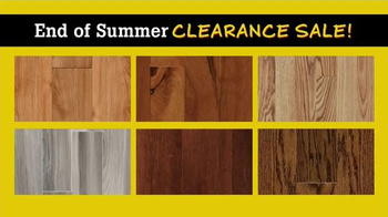 Lumber Liquidators End of Summer Clearance Sale TV Spot, 'Now is the Time'