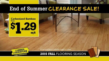 Lumber Liquidators End of Summer Clearance Sale TV Spot, 'Now is the Time' - Thumbnail 6