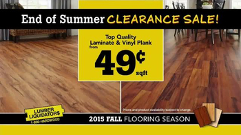 Lumber Liquidators End of Summer Clearance Sale TV Spot, 'Now is the Time' - Thumbnail 8