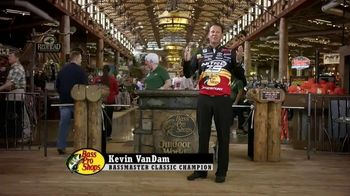 Bass Pro Shops Gear Up Sale TV Spot, 'Boats' Featuring Kevin VanDam - 199 commercial airings