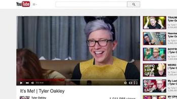 YouTube TV Spot, 'TylerOakley: You Dare to Be You' - Thumbnail 3