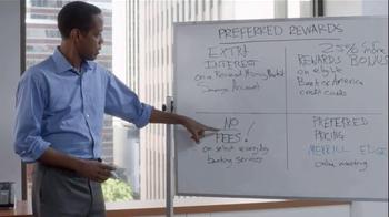Bank of America Preferred Rewards Program TV Spot, 'Pillars Brainstorm' - Thumbnail 8