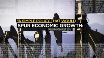 American Petroleum Institute TV Spot, 'Lift the Ban on Crude Oil Exports' - Thumbnail 4