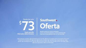 Southwest Airlines TV Spot, 'Tarifas claras' [Spanish] - Thumbnail 8