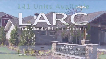 Legacy Affordable Retirement Communities TV Spot, 'Dream Homes'