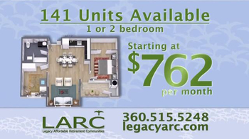 Legacy Affordable Retirement Communities TV Spot, 'Dream Homes' - Thumbnail 3