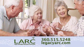 Legacy Affordable Retirement Communities TV Spot, 'Dream Homes' - Thumbnail 5