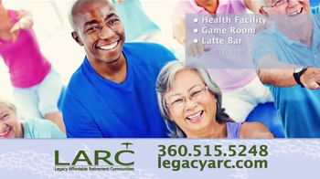 Legacy Affordable Retirement Communities TV Spot, 'Dream Homes' - Thumbnail 6