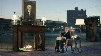 Hulu No Commercials Plan TV Spot, 'Fireside' - Thumbnail 1
