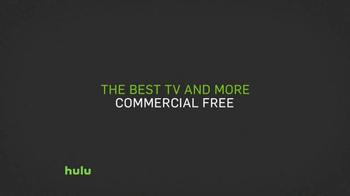 Hulu No Commercials Plan TV Spot, 'Fireside' - Thumbnail 7