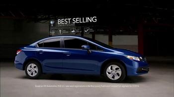 2015 Honda Civic TV Spot, 'Spelled Out' - Thumbnail 5