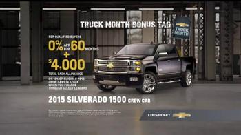 Chevrolet Truck Month TV Spot, 'Truck Doors' - Thumbnail 7