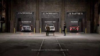Chevrolet Truck Month TV Spot, 'Truck Doors' - 62 commercial airings