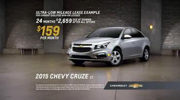 2015 Chevy Cruze LT TV Spot, 'Eyes On the Road' - Thumbnail 6