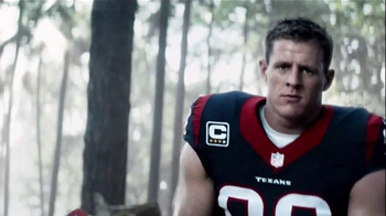 Verizon TV Spot, 'A Better Network as Explained by J.J. Watt Chopping Wood' - Thumbnail 6