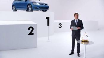 2015 Volkswagen Golf TV Spot, 'Bigger Podium' - Thumbnail 2