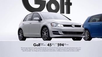 2015 Volkswagen Golf TV Spot, 'Bigger Podium' - Thumbnail 5