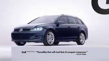 2015 Volkswagen Golf TV Spot, 'Bigger Podium' - Thumbnail 6