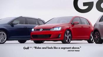 2015 Volkswagen Golf TV Spot, 'Bigger Podium' - Thumbnail 7