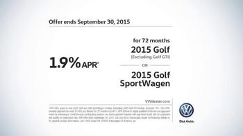 2015 Volkswagen Golf TV Spot, 'Bigger Podium' - Thumbnail 9