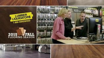 Lumber Liquidators TV Spot, '2015 Fall Flooring Season: Fall Laminates' - Thumbnail 2