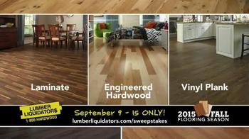 Lumber Liquidators TV Spot, '2015 Fall Flooring Season: Fall Laminates' - Thumbnail 4